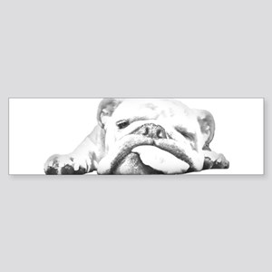 Sleepy Head Sticker (Bumper)